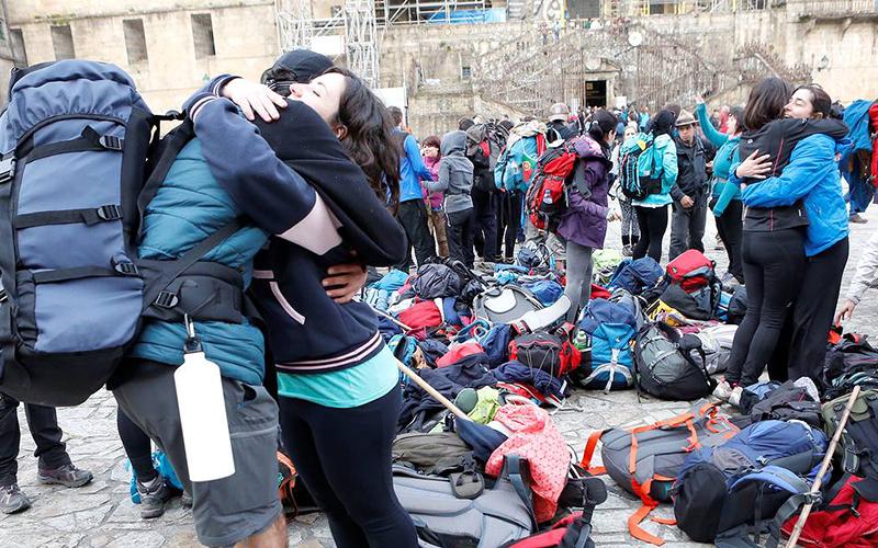 Das zweitgrößte Touristenland - News - Blog en el Camino de Santiago ... a2a8cd2a2