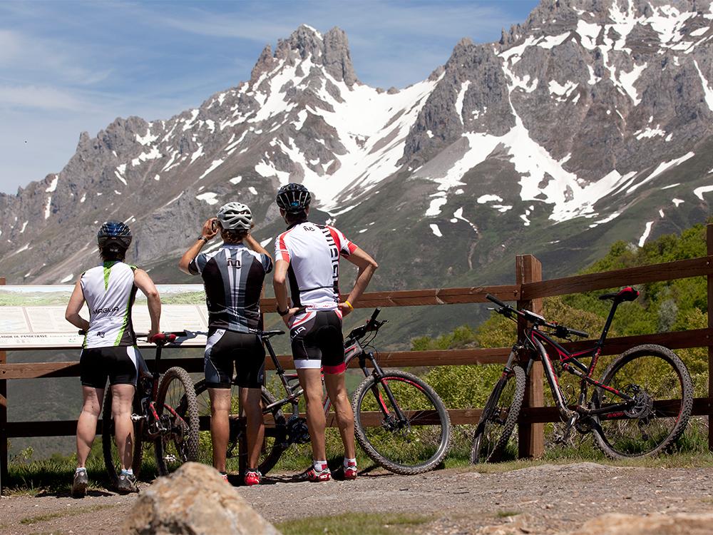 Picos de Europa på mountainbike