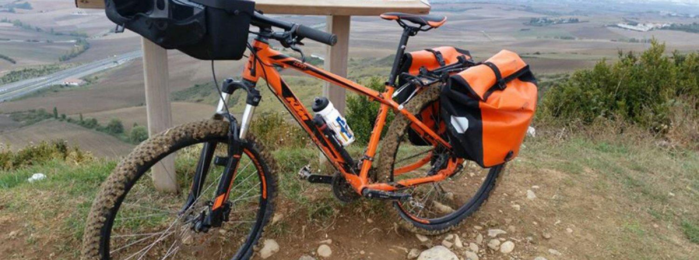 Längs El Camino på cykel (Pamplona-Santiago)