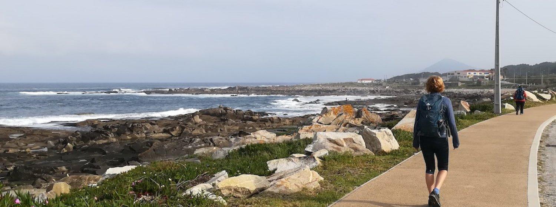 Portuguese Camino by the Coast