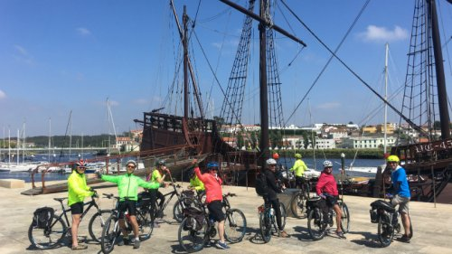 Cycling holidays along the Atlantic Ocean in Portugal and Spain
