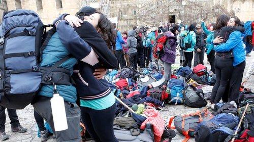 Marzo recibió casi el doble de peregrinos que el mismo mes del último Xacobeo